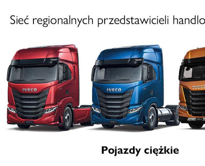 Sieć regionalnych przedstawicieli handlowych IVECO gama ciężka
