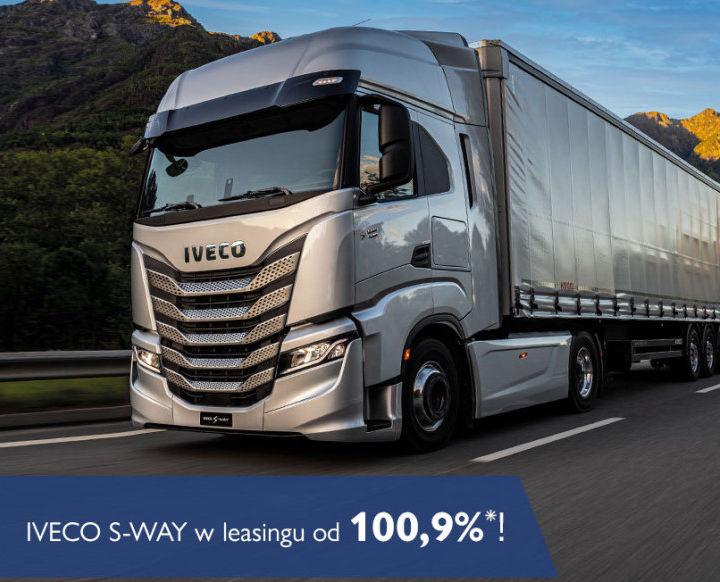 IVECO S-WAY w leasingu od 100,9%*!
